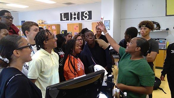 Programs - Classroom, Lincoln Dyson